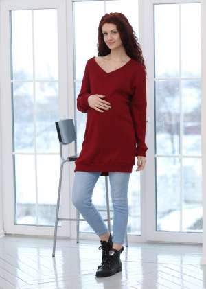 Джемпер туника для беременных