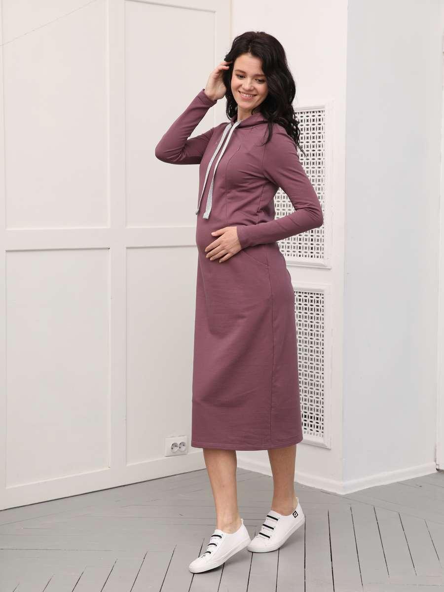 Платье для беременных прямого силуэта