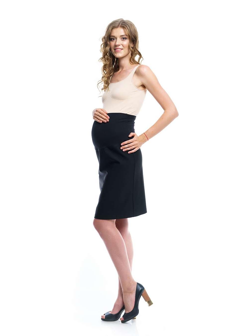 Юбка для беременных прямая