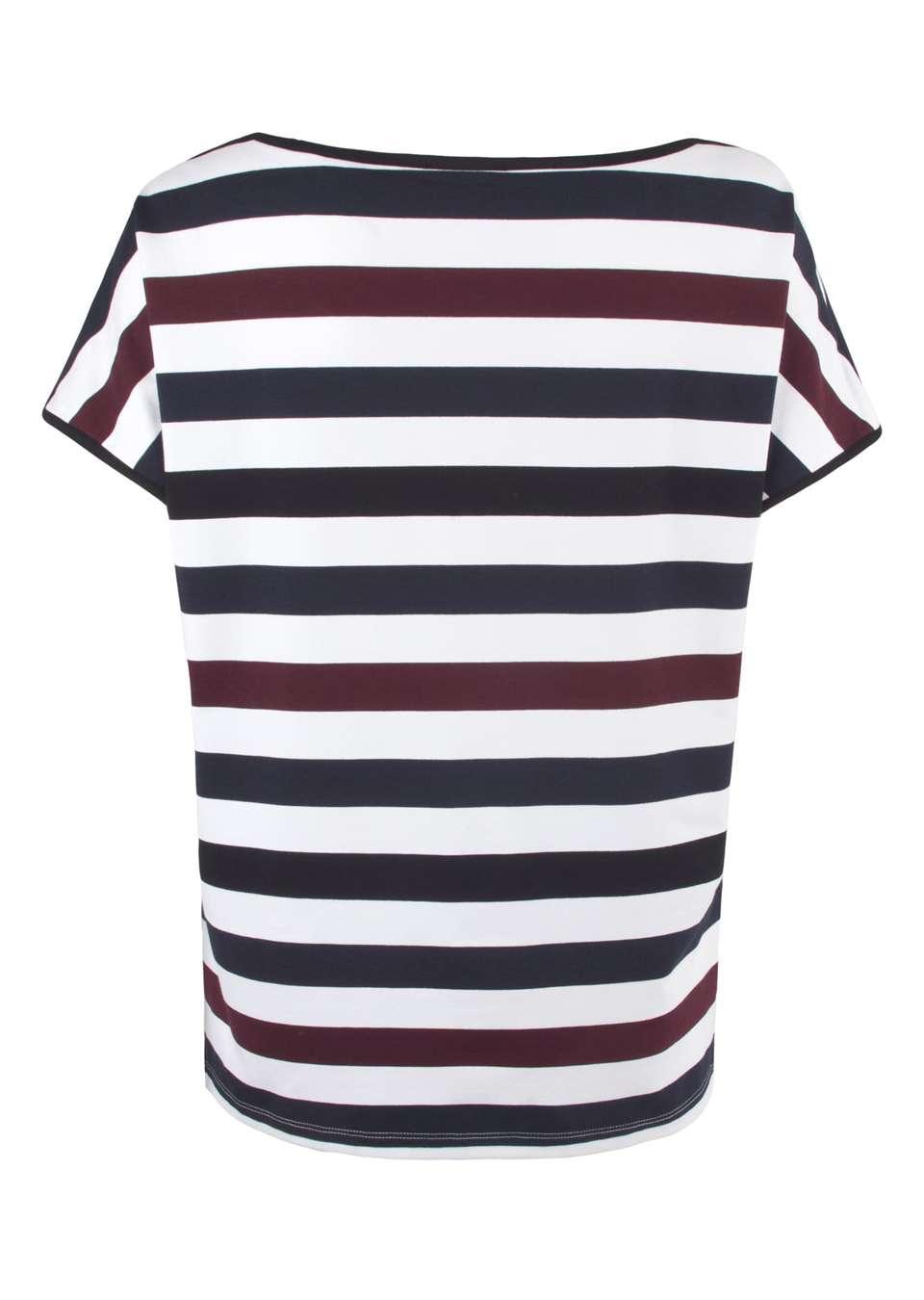 Блуза трикотажная в полоску