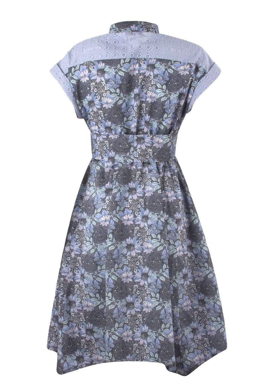Платье  рубашка с поясом для беременных