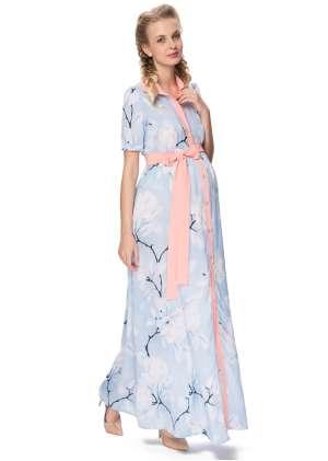 Платье макси Окинава