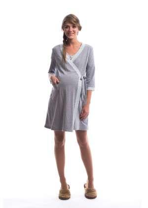 Комплект халат и сорочка для беременных