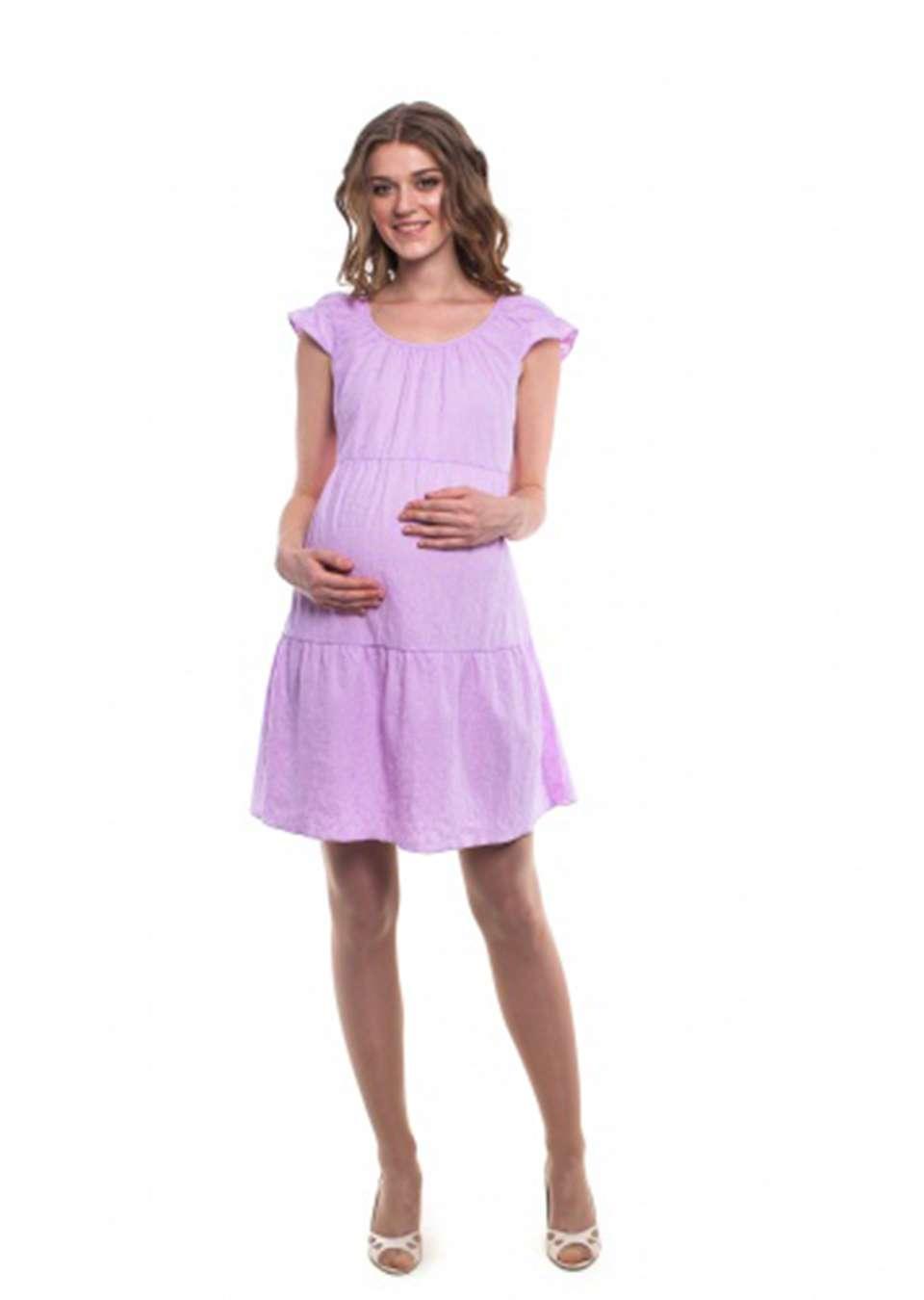 Платье А силуэта для беременных