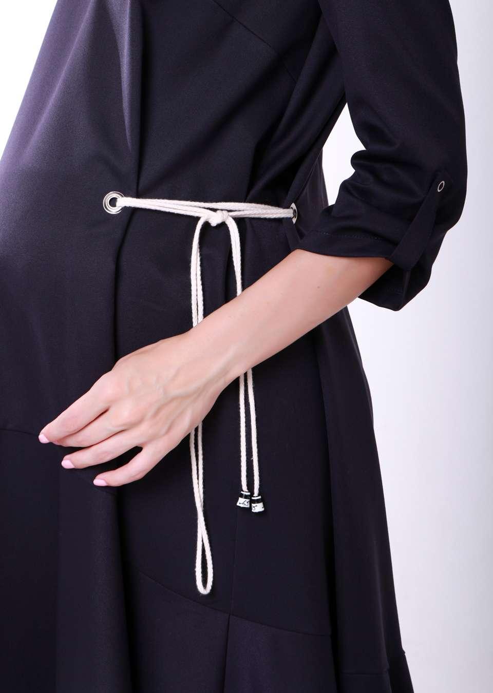Платье А силуэт для беременных