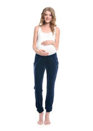 Брюки для беременных домашние