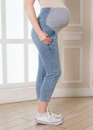 Джинсы Бойфрендый для беременных