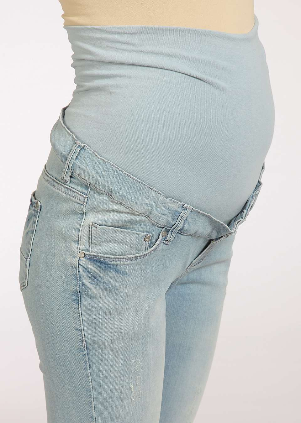 Джинсы для беременных  узкие