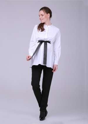 Блуза с завязкой для беременных