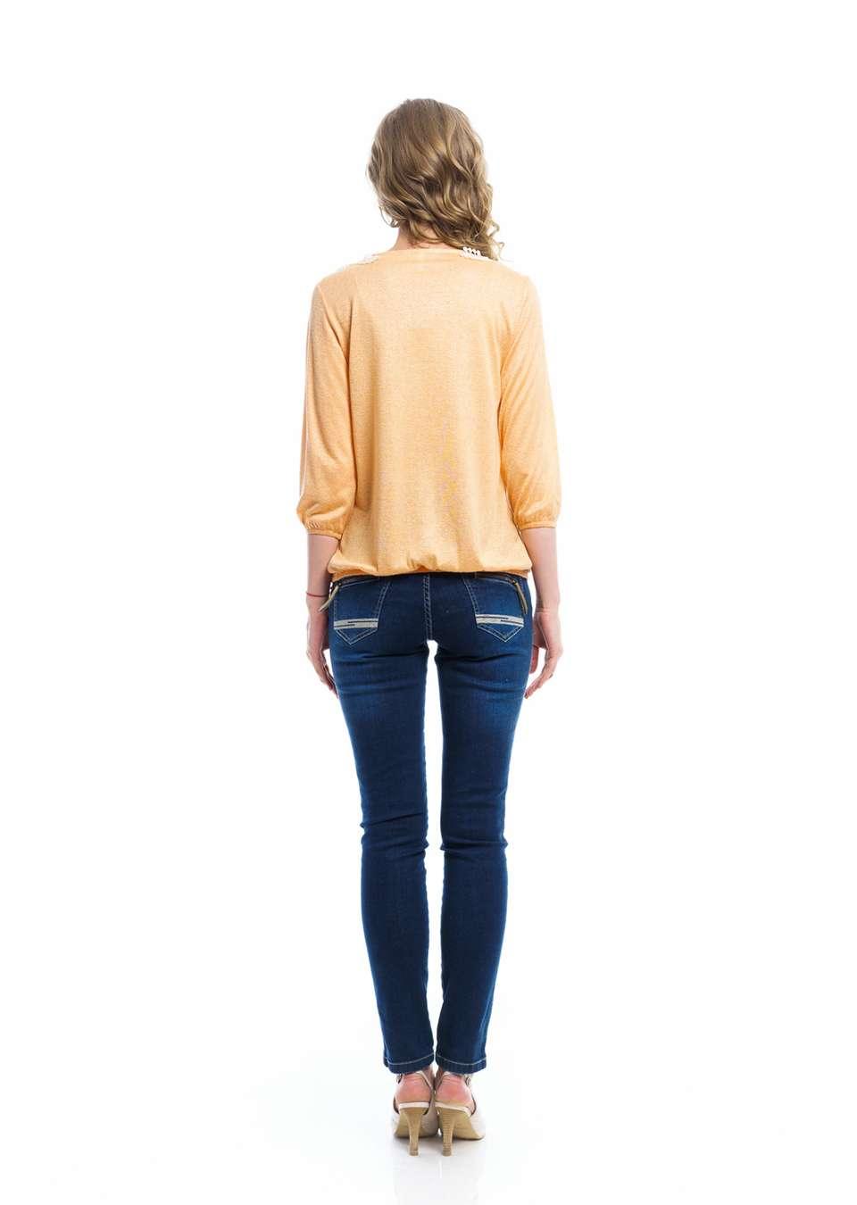 Блуза баллон