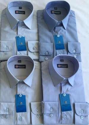 Рубашка мальчуковая в полоску школьная