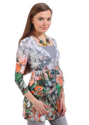 Блуза для беременных и кормящих Агата