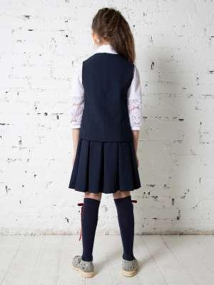 Жилет школьный для девочки Лина