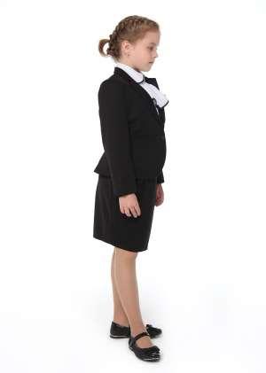 Жакет на пуговице школьный Лана
