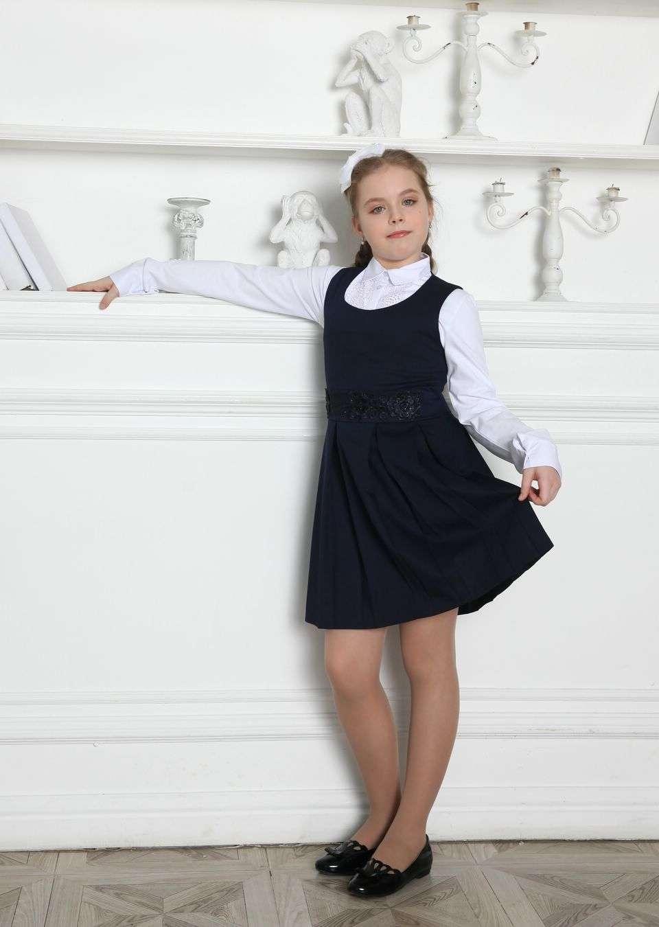 Сарафан школьный Ядвига