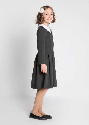 Платье с воротничкомАида школьное