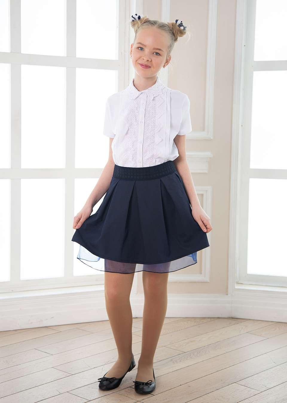 Блузка школьная для девочек Фиона