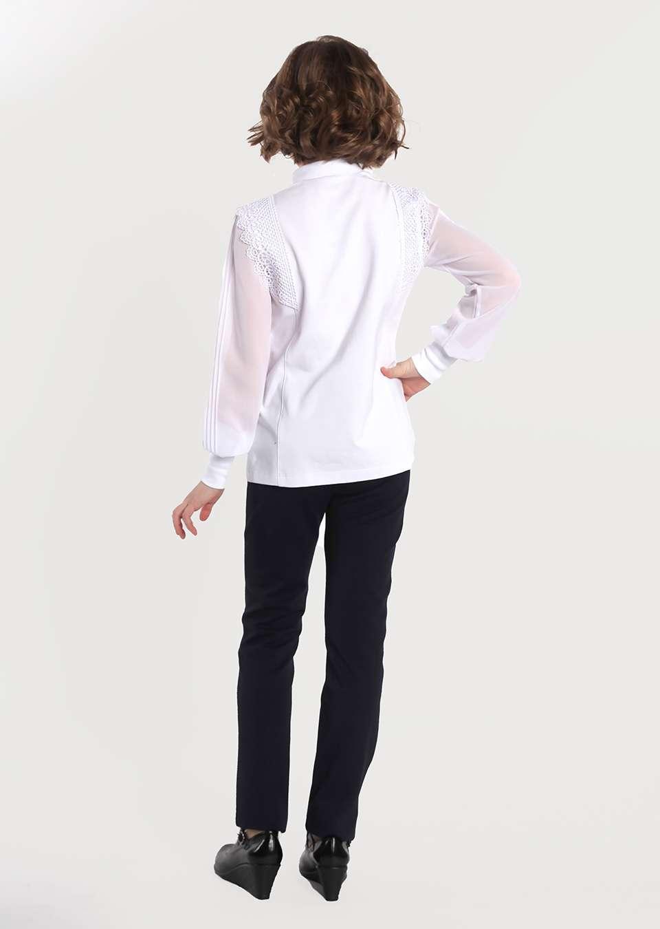 Блузка  Беата школьная для девочек
