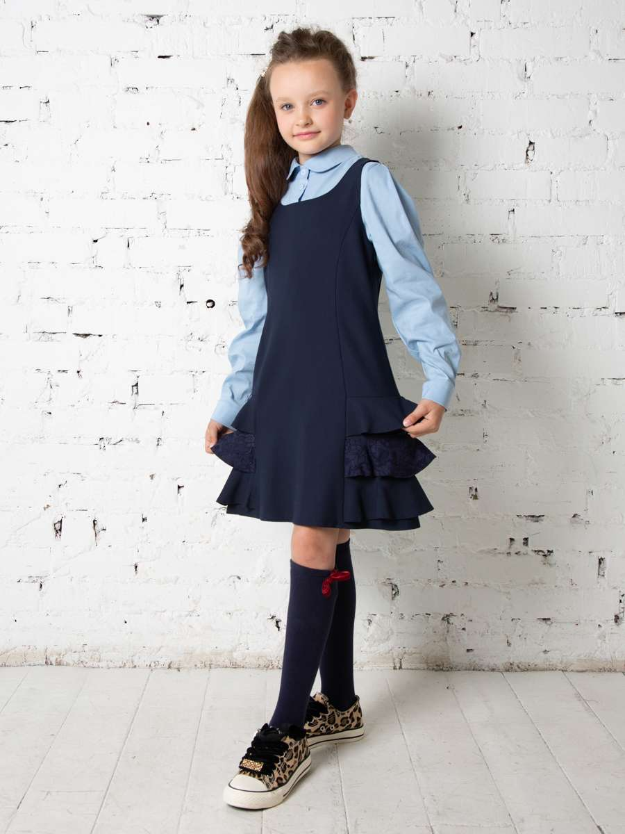 Блузка школьная для девочек Кайли