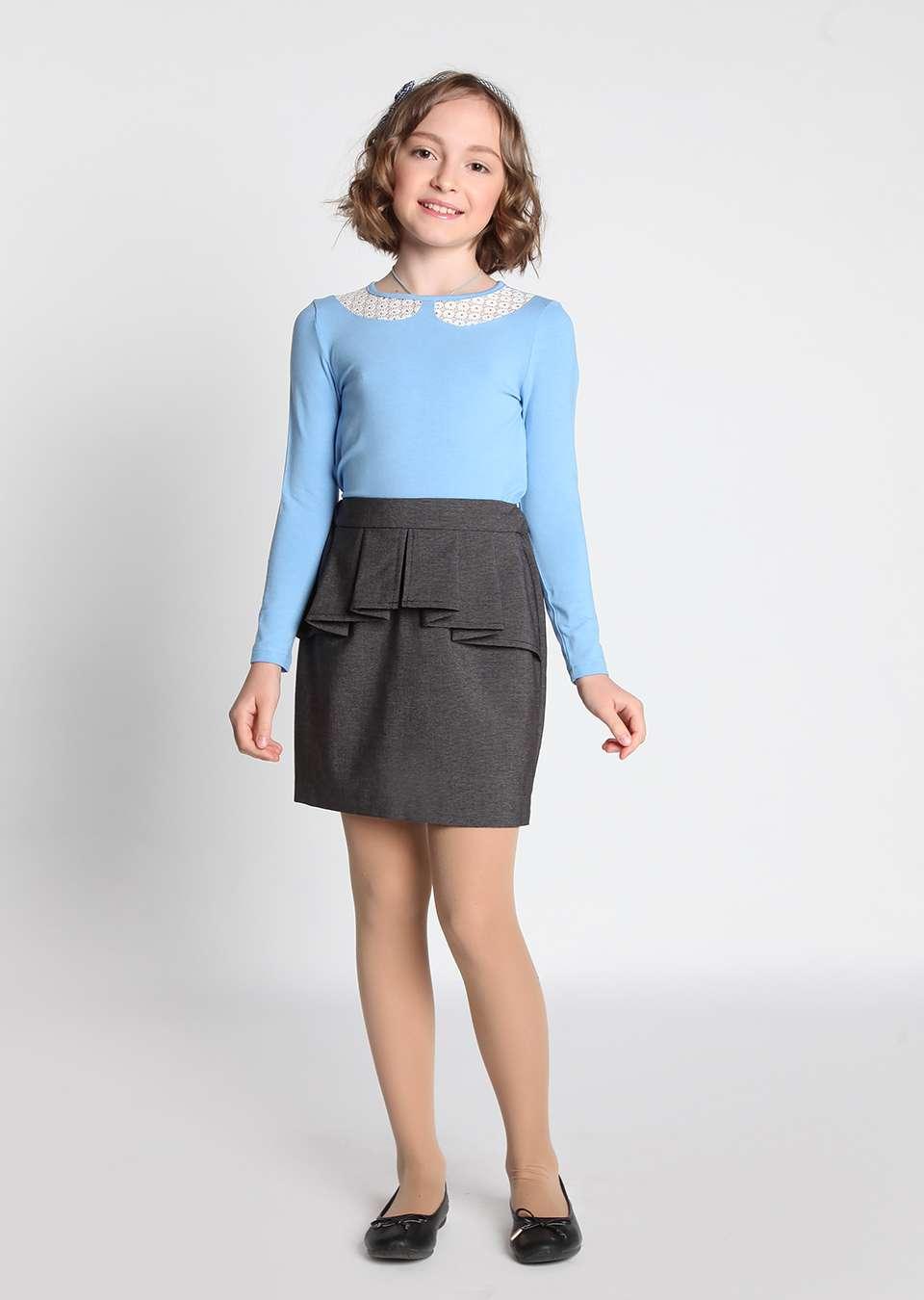 Блузка Воротничек школьная для девочек