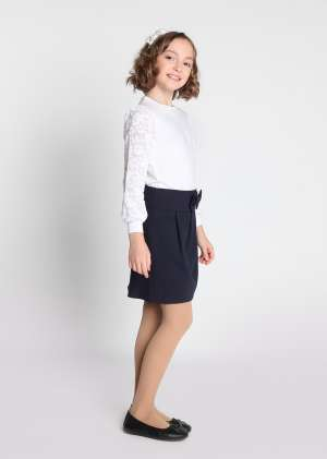 Блузка Кира школьная