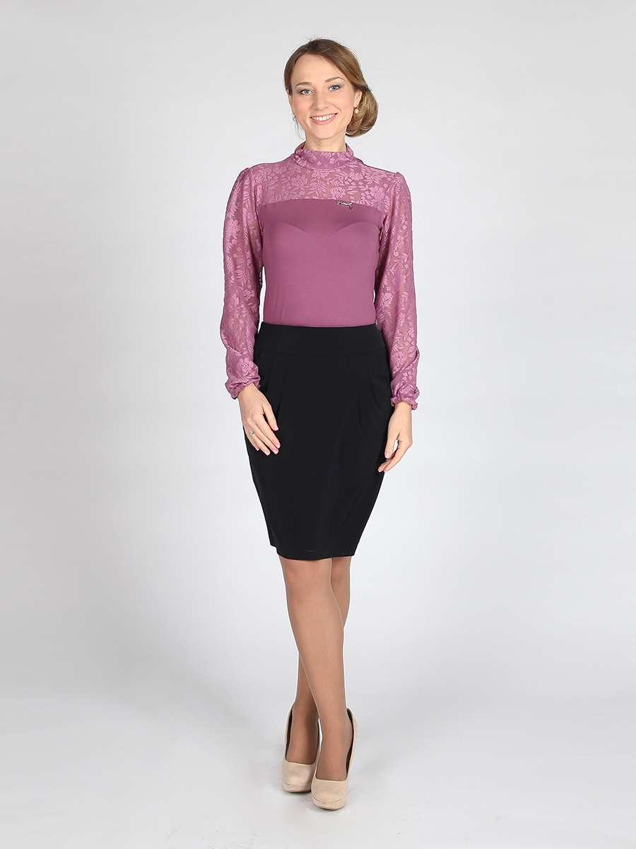 Блуза гепюр школьная
