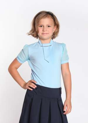 Блузка Лера школьная