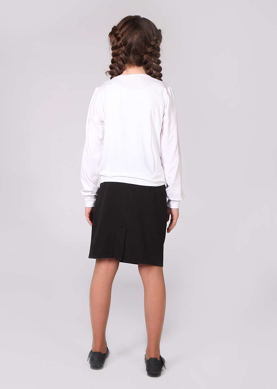 Блуза с рюшем