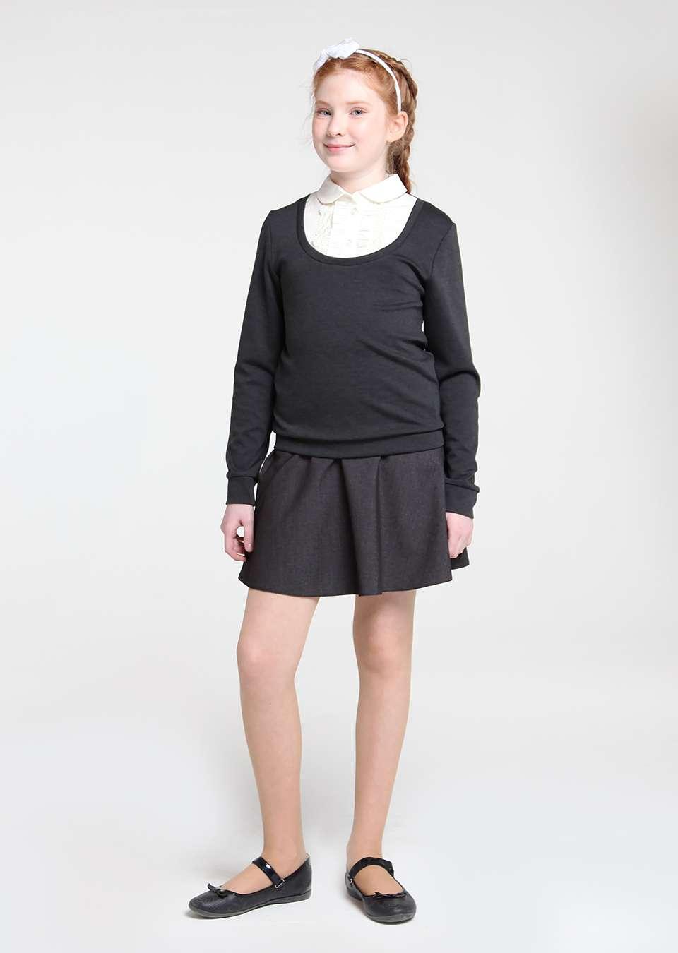 Обманка пуловер
