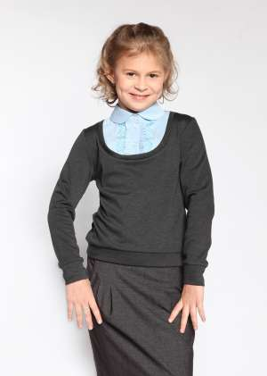 Пуловер обманка для школы