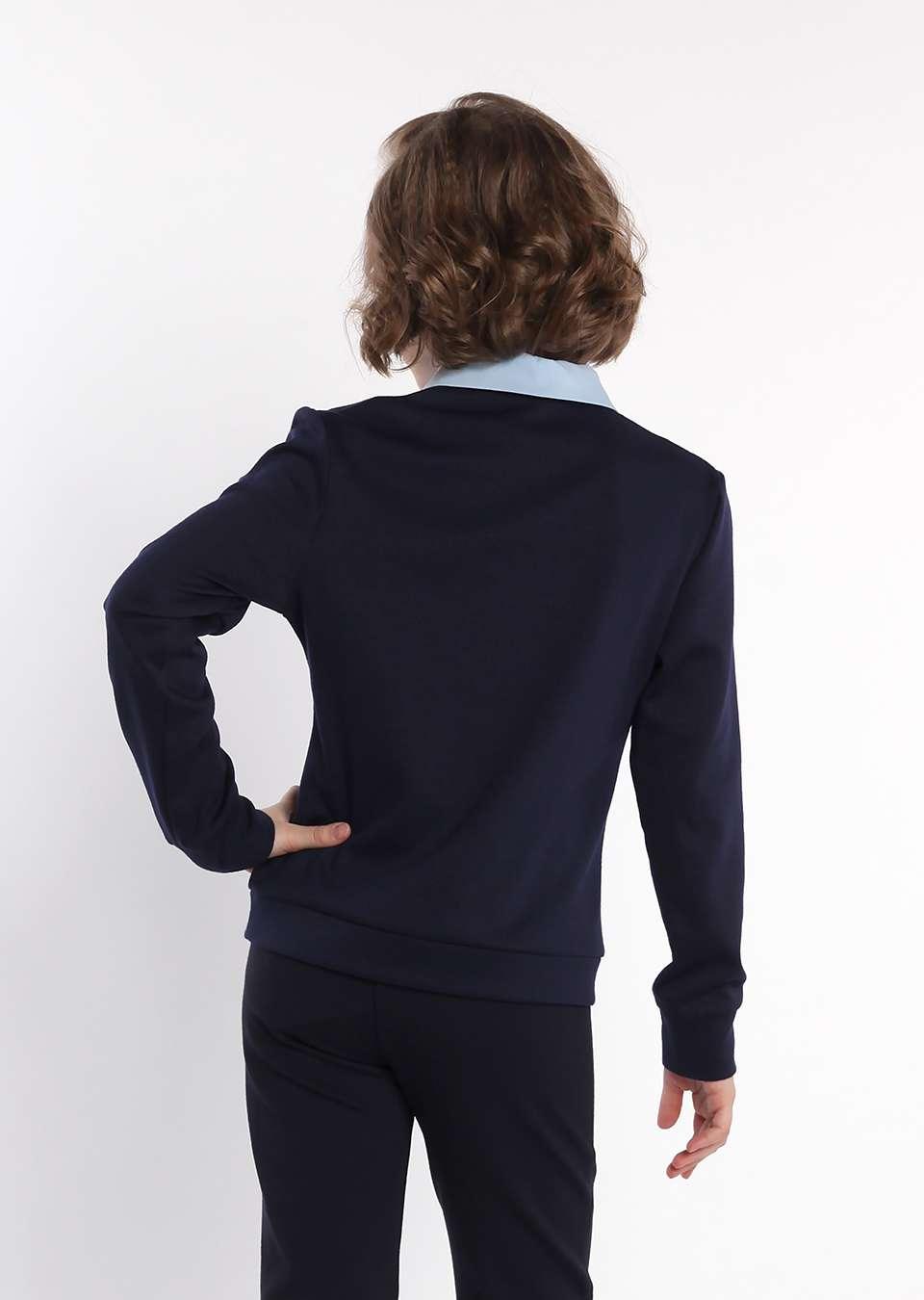 Пуловер обманка школьный