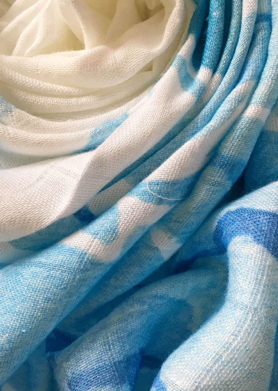 Муслиновая пеленка. Фотопеленка. Волна