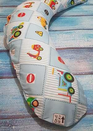 Подушка для беременных LeJoy Premium 190см Машинки