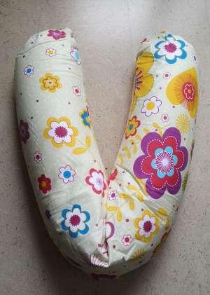 Подушка Premium 190см Желтые ромашки