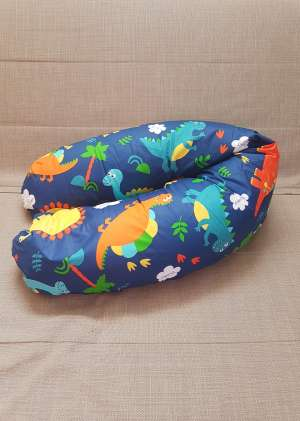 Подушка для кормления 190см Динозавры