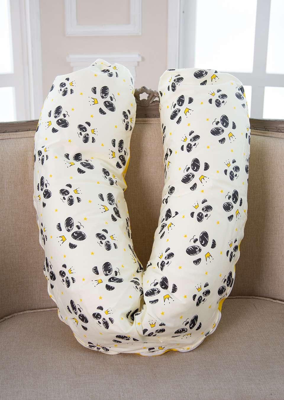 Подушка для беременных и кормления 190см Панда